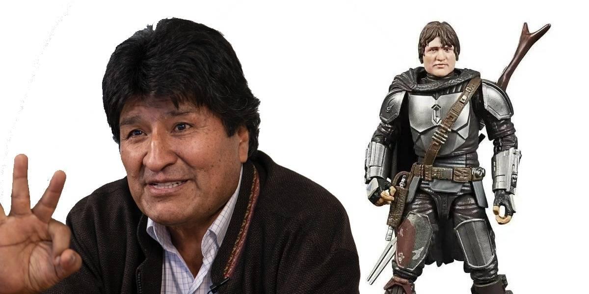 The Mandalorian: la figura de colección no se parece a Pedro Pascal pero sí a Evo Morales