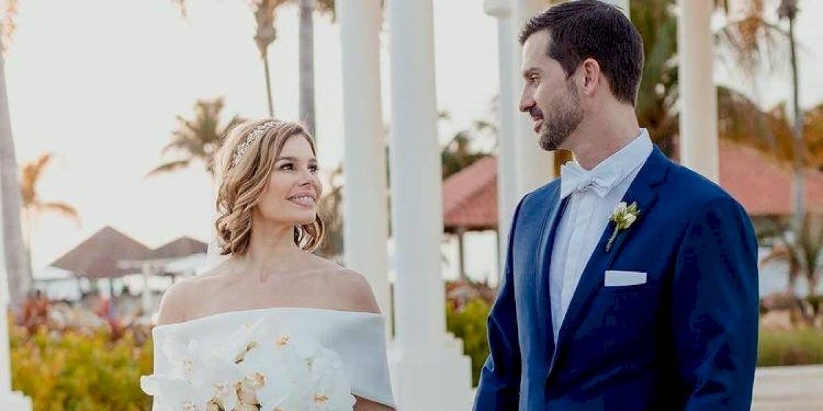 Ivonne Orsini se casa