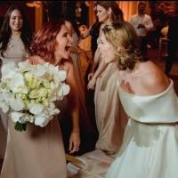 Buenos deseos de compañeros de Ivonne Orsini en su enlace matrimonial