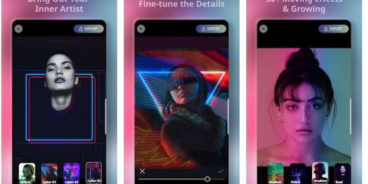 Puedes añadirle a tus fotos los efectos Cyberpunk con esta app