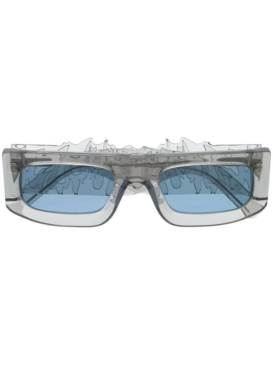 gafas grises