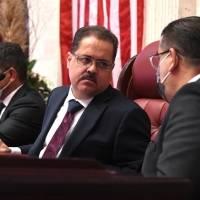 José Luis Dalmau juramenta como presidente del Senado