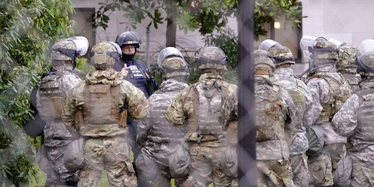 Enviarán 10,000 Guardias Nacionales a Washington D.C. para inauguración de Biden