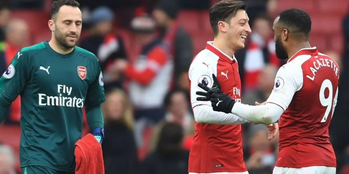 Mesut Özil elige a David Ospina en su once ideal