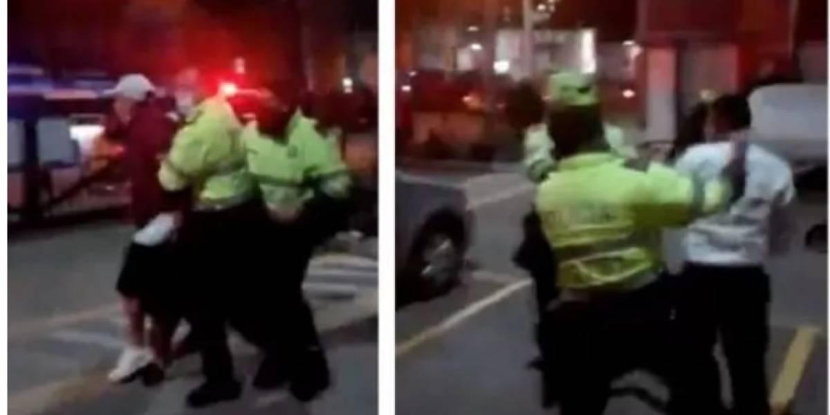 """""""Se metieron como ratas"""": policías ingresaron ilegalmente a un conjunto residencial"""
