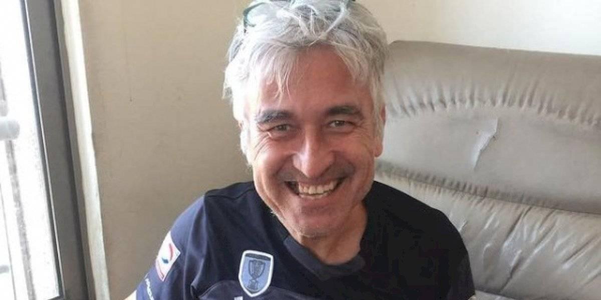 "Jorge González sorprende con camiseta de Colo Colo: ""Amo a todos los equipos chilenos"""