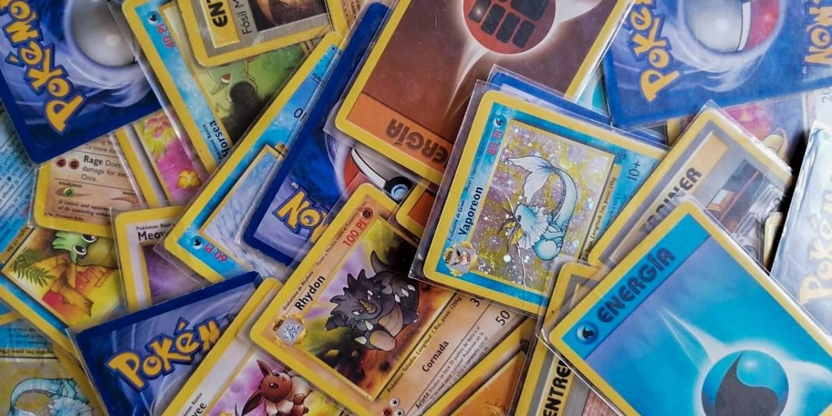 Pokémon: subastarán mazo de cartas de la primera generación de 1999 en una oferta mínima de $90 millones