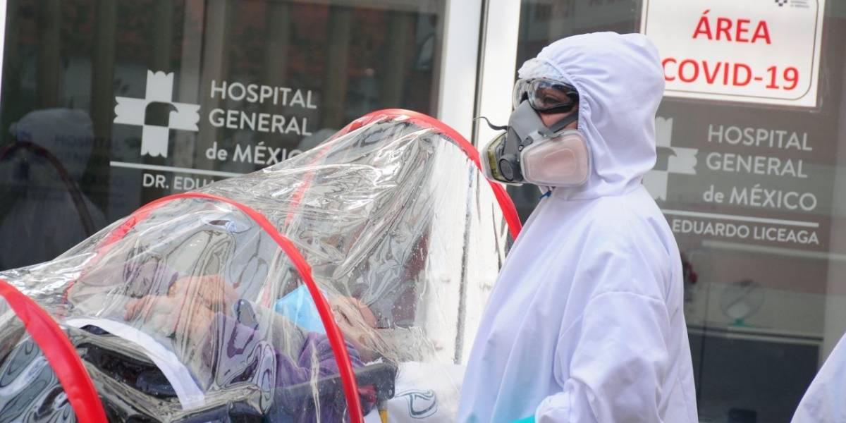 Suman en México un millón 541 mil contagios y 132 mil muertes por Covid-19