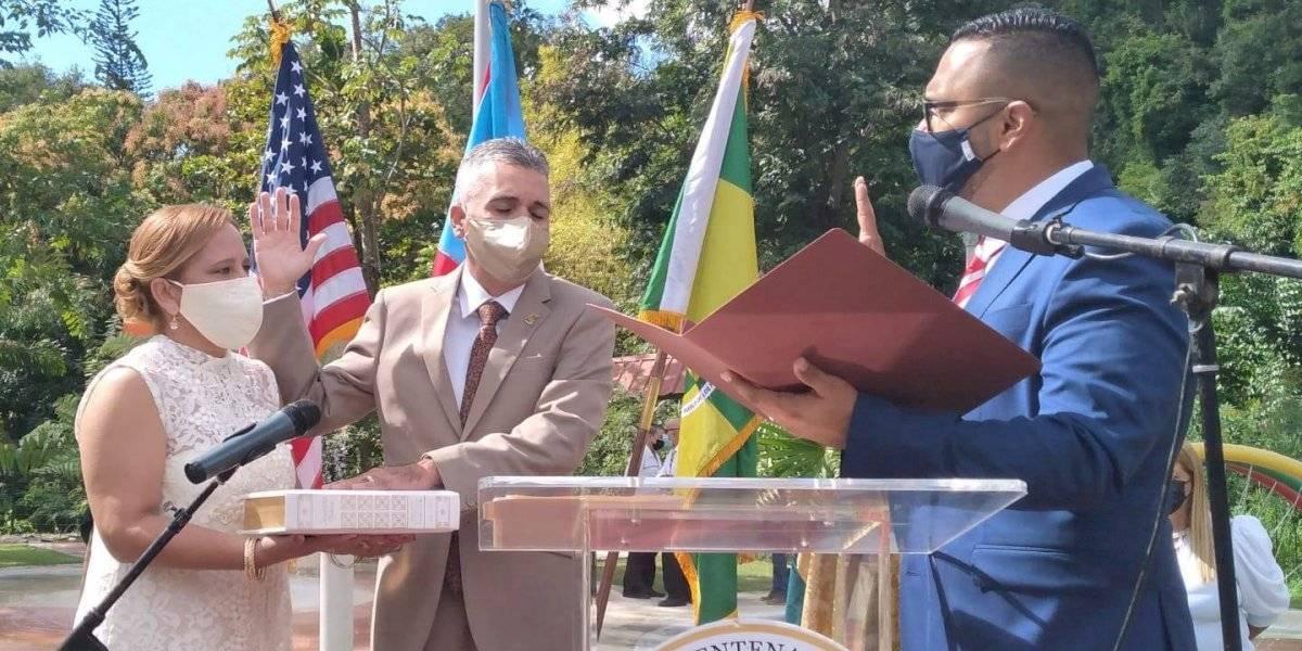 Juramenta el nuevo alcalde de Sabana Grande