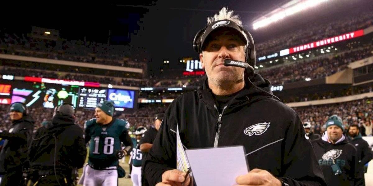 Eagles despiden al entrenador Doug Pederson