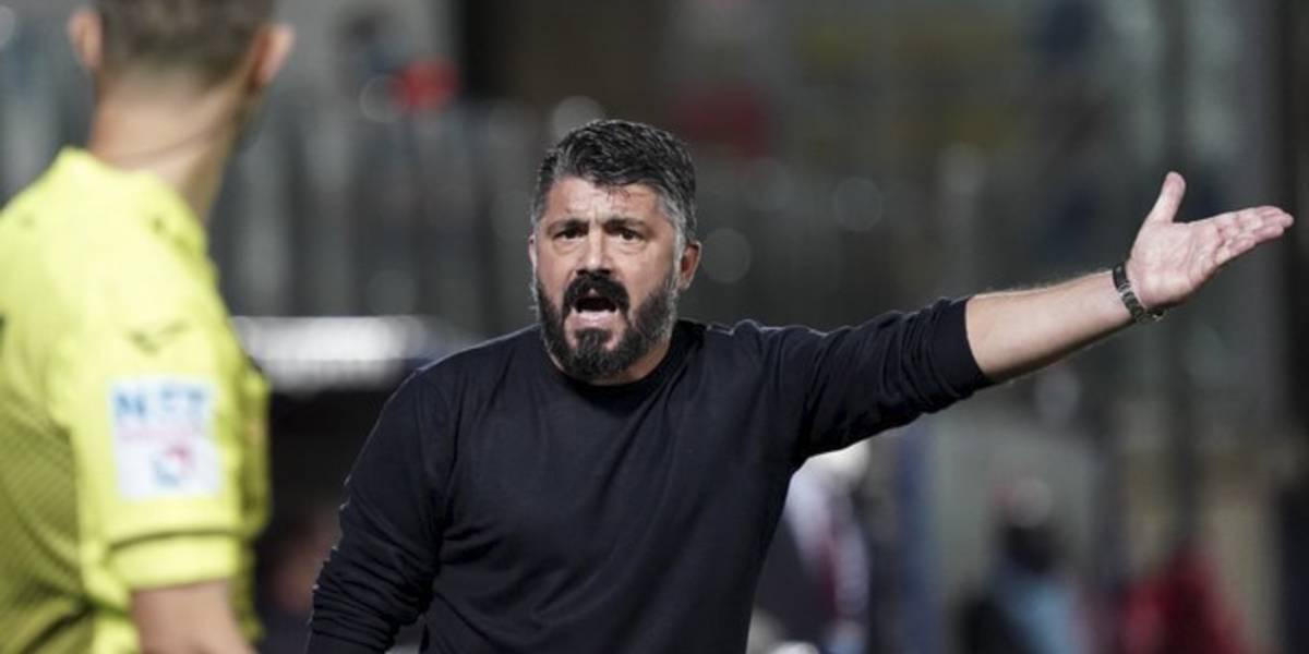 Gennaro Gattuso, el estratega del Chucky Lozano que fue jugador de rugby