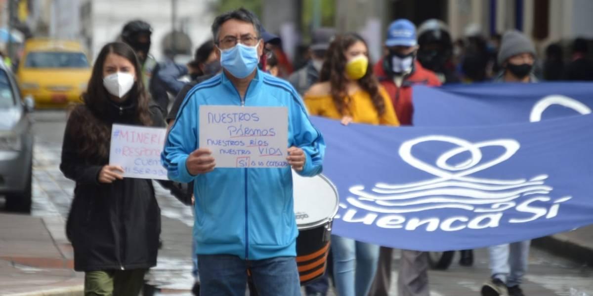 Cuenca: Gana el sí en la consulta popular sobre la prohibición de minería en zonas hídricas