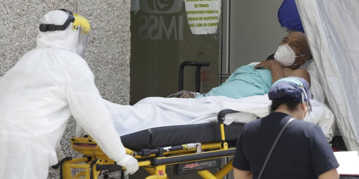 """Descartan aplicar """"código azul"""" en pacientes Covid de Puebla"""