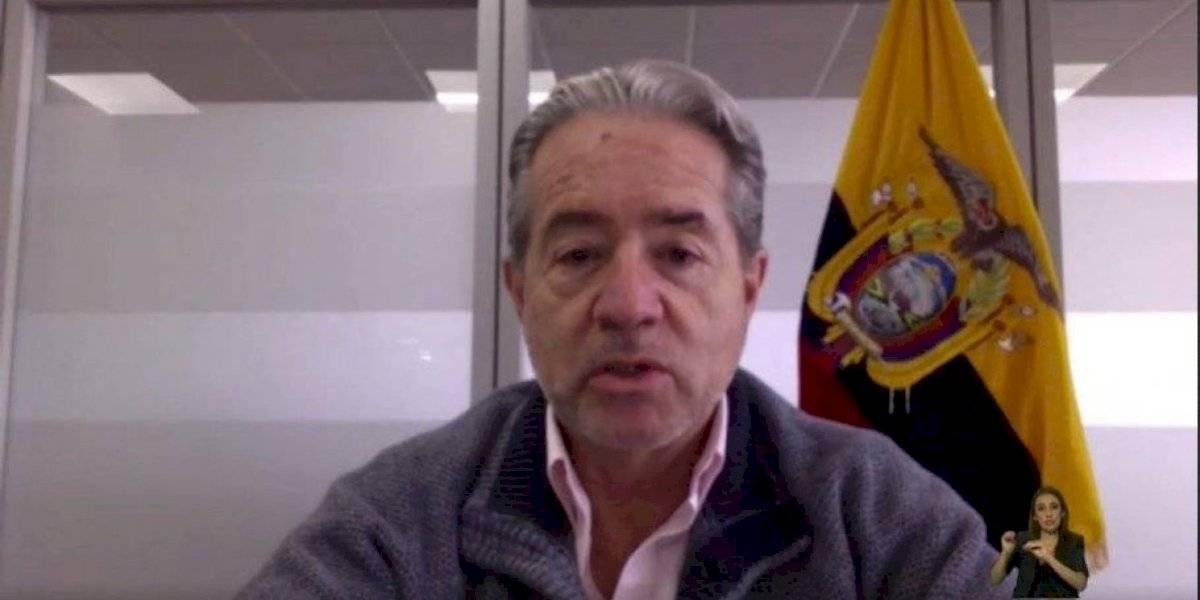 Ministro de Salud descarta un colapso sanitario en el Ecuador