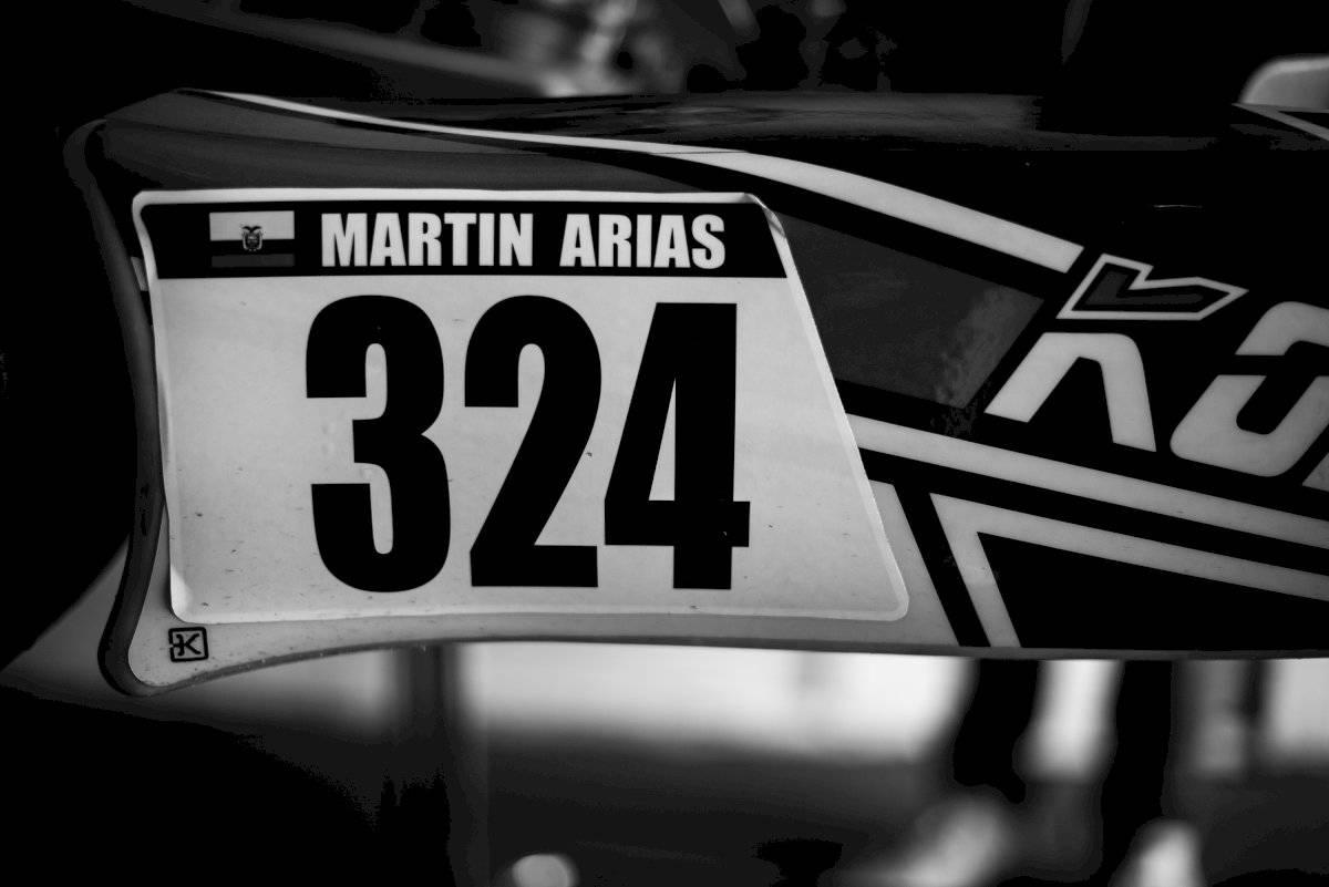 Martín Arias, piloto profesional de karting