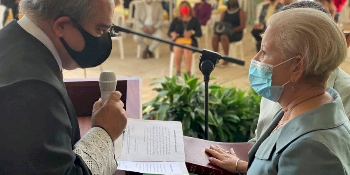 Julia Nazario juramenta nuevamente como alcaldesa de Loíza