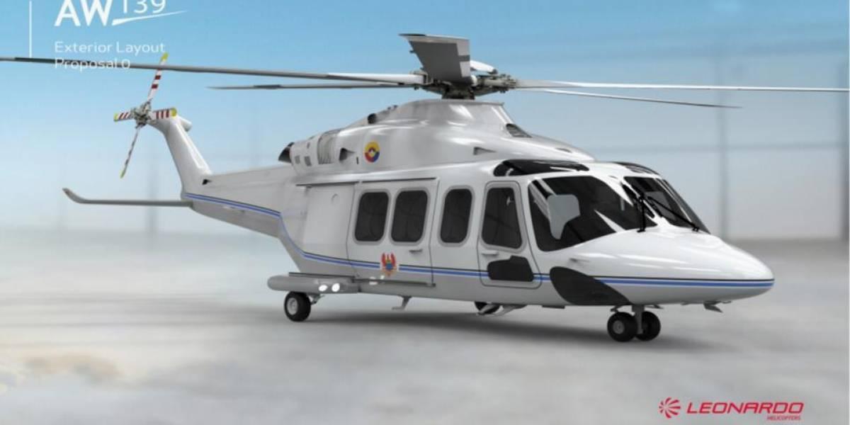Así será el nuevo helicóptero para Iván Duque que compró la Fuerza Aérea