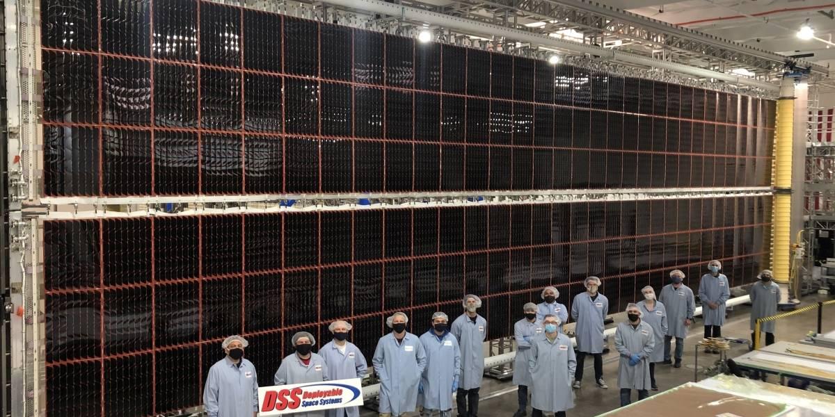 NASA ultima nuevos paneles solares para la Estación Espacial