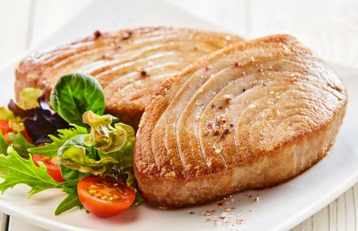 El atún es un pescado graso perfecta para tu menú alimenticio
