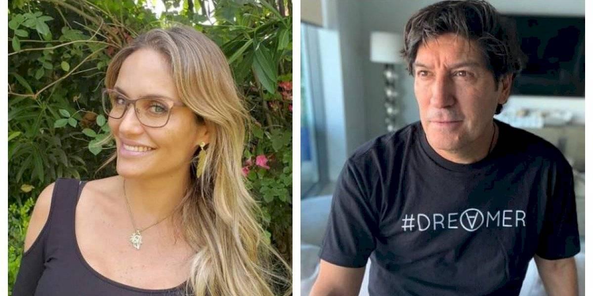 "Jordi Castell revela romántico poema de Zamorano a Kenita Larraín: ""Para mi futura esposa María Eugenia"""