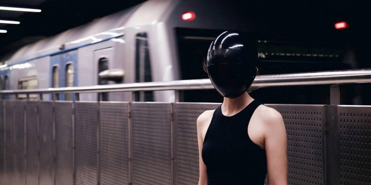 Esta máscara modular de cara completa está diseñada para la protección y la privacidad
