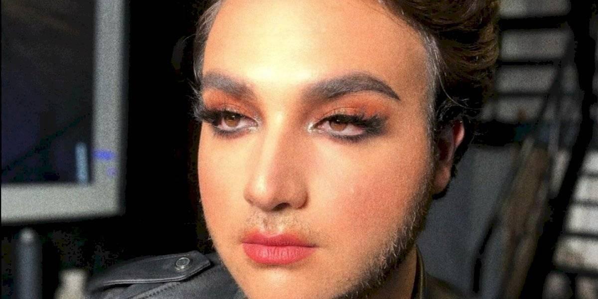 Marca de cosméticos lanza maquillaje para hombres