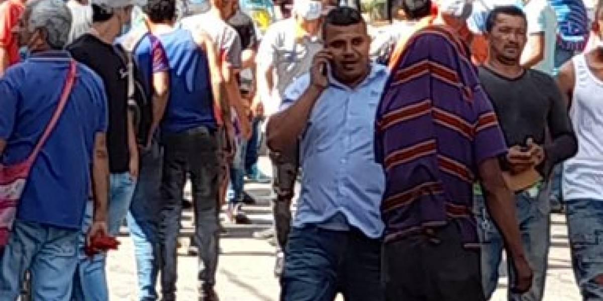 ¡Atención! Una granada explotó en el centro de Barranquilla, dejando varios heridos