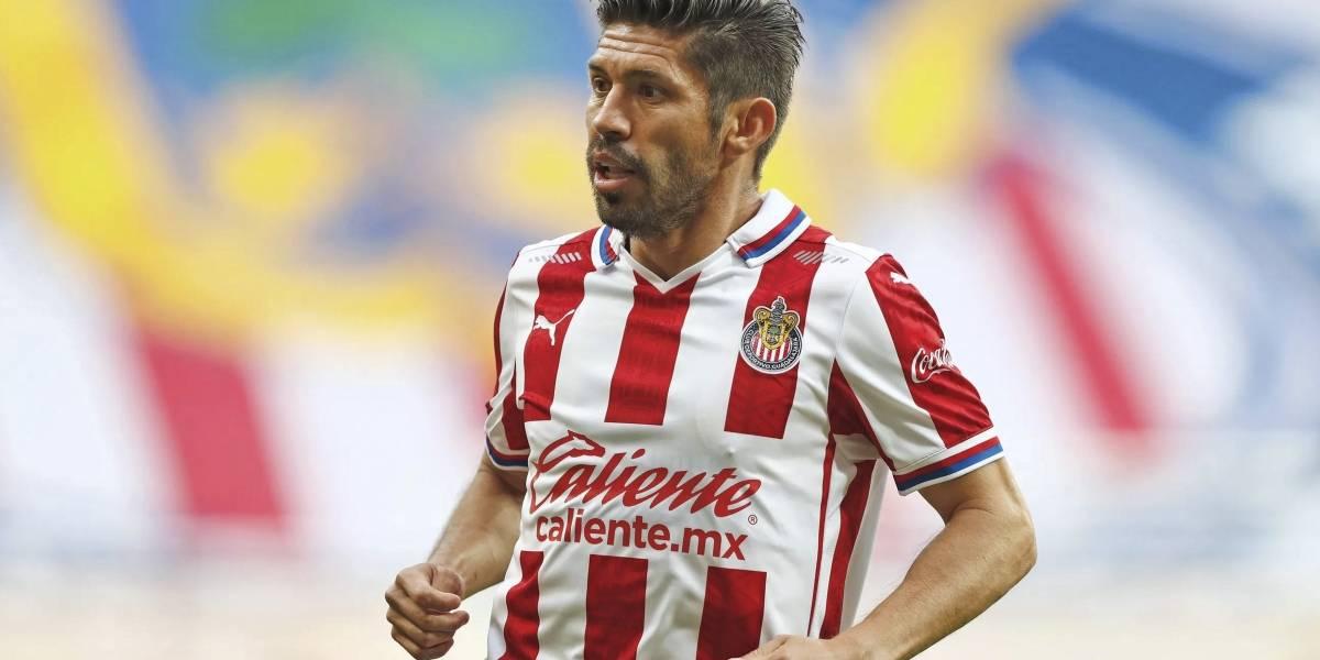 Oribe Peralta y su sueño de retirarse en las Chivas