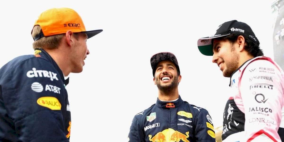 Ricciardo manda consejo al 'Checo' Pérez para trabajar con Helmut Marko