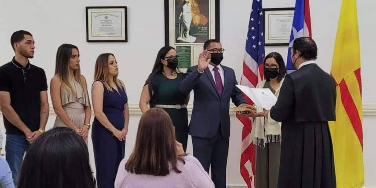 Juramenta de manera virtual el alcalde de San Lorenzo