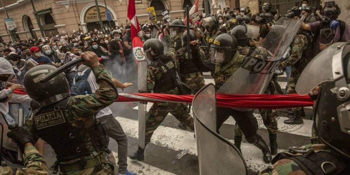 """ONU: policía peruana """"hizo uso innecesario y excesivo de la fuerza"""" en protestas de noviembre"""