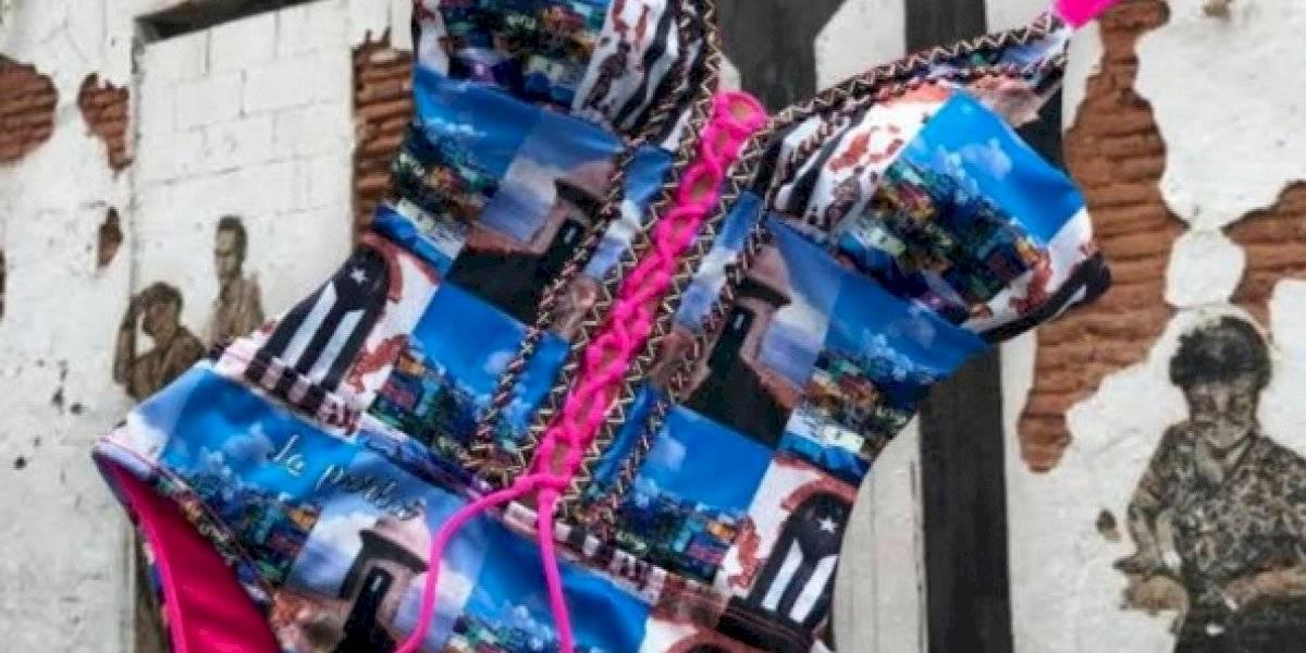 Línea de trajes de baño promueve La Perla y Viejo San Juan