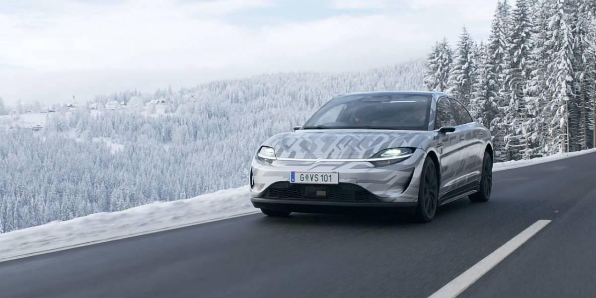 Sony muestra su VISION-S, el auto eléctrico que ya probó en Europa