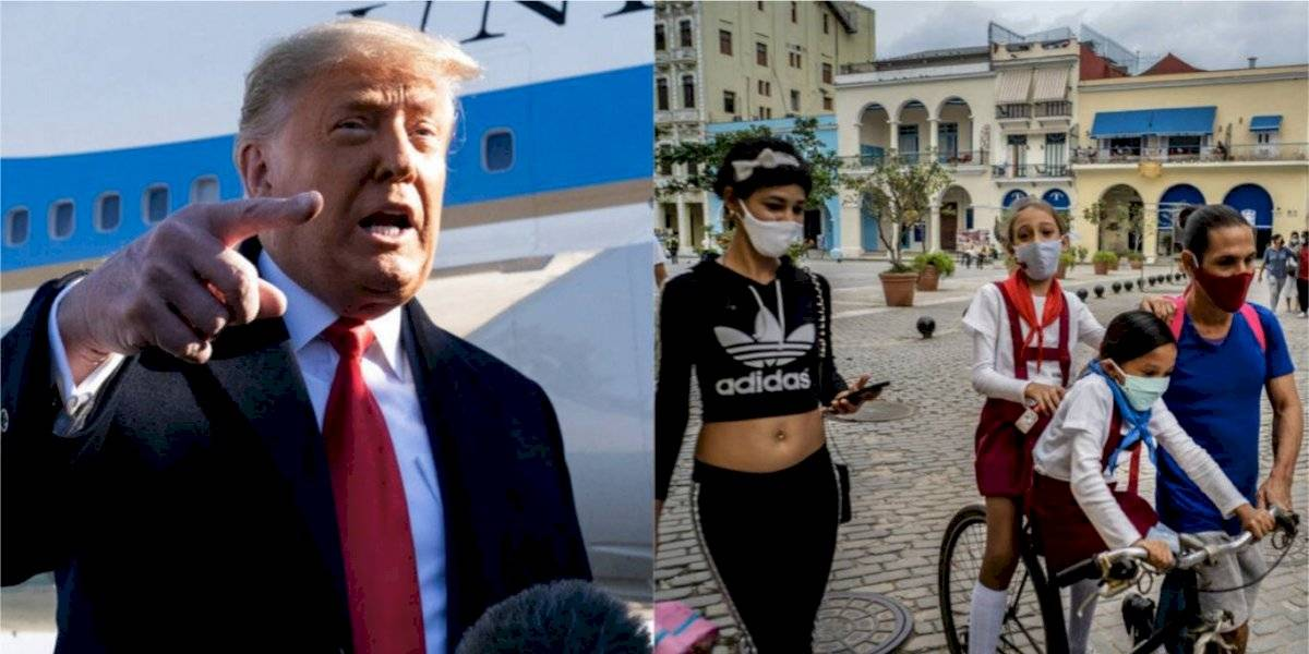 "Trump vuelve a nombrar a Cuba como ""patrocinador del terrorismo"""