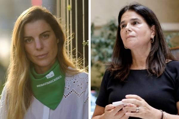 Pañuelos verdes y celestes: las dos caras de la discusión de la despenalización del aborto