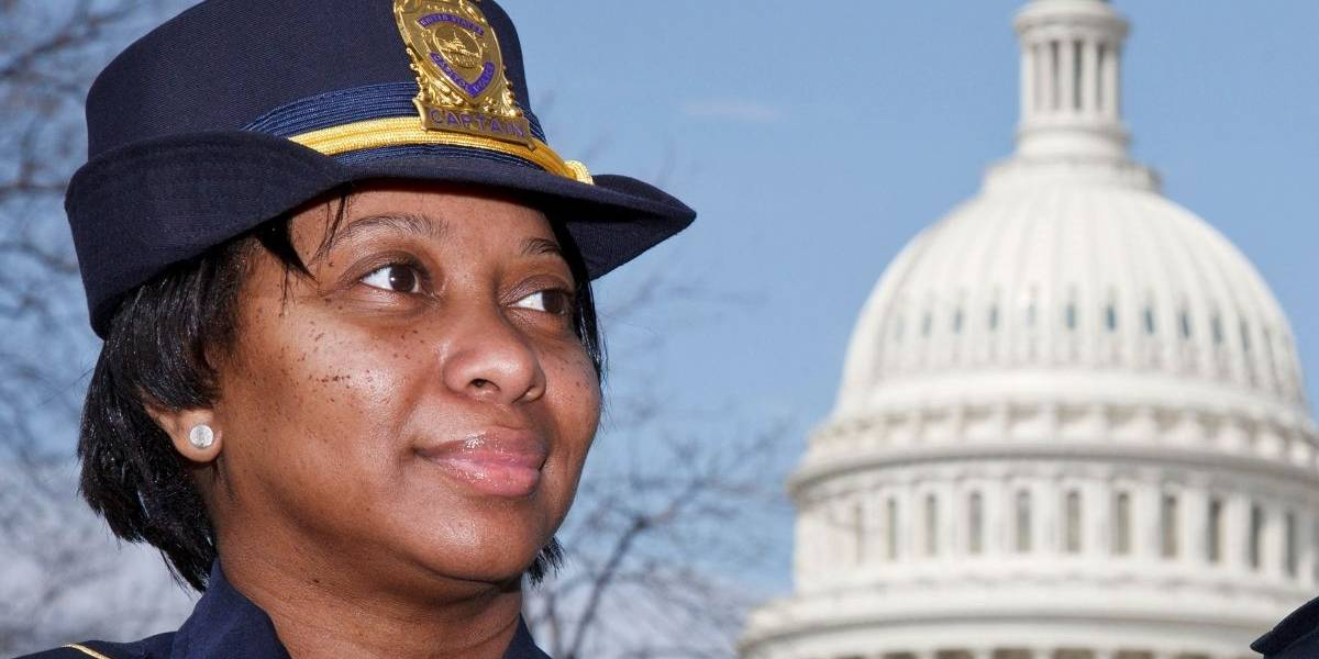 Yogananda, la primera afroestadounidense que encabeza la Policía del Capitolio