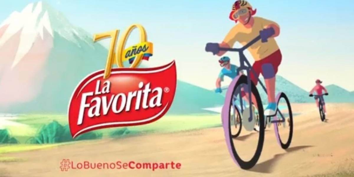 70 años de La Favorita: ¡La felicidad es completa cuando se comparte!