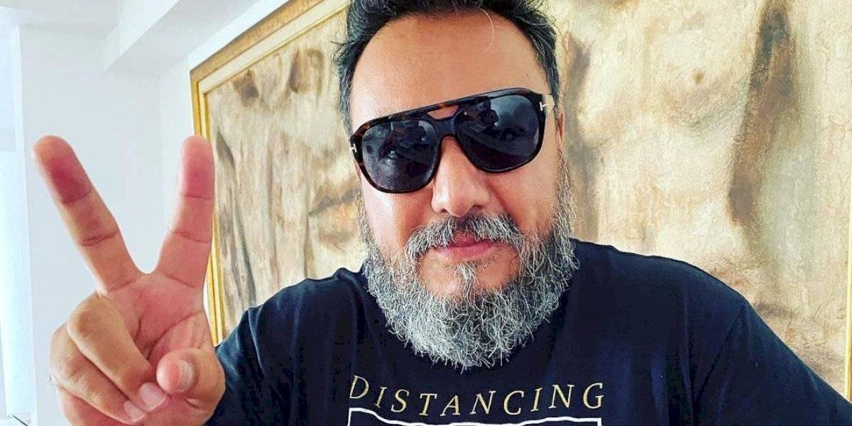 Paco Ayala de Molotov muestra su faceta como Tiktoker