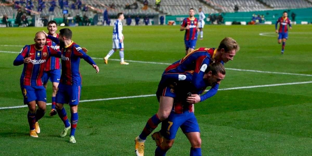 ¡Olor a Clásico! Barcelona eliminó a la Real Sociedad y espera por el Madrid en la final
