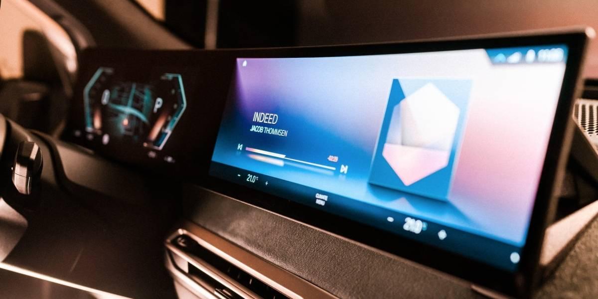BMW muestra una vista previa en el CES 2021 del nuevo sistema operativo iDrive