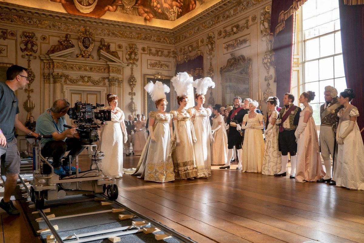 En la mansión se firmaron las escenas del interiores de la casa de Daphne y Simon en Los Bridgerton.