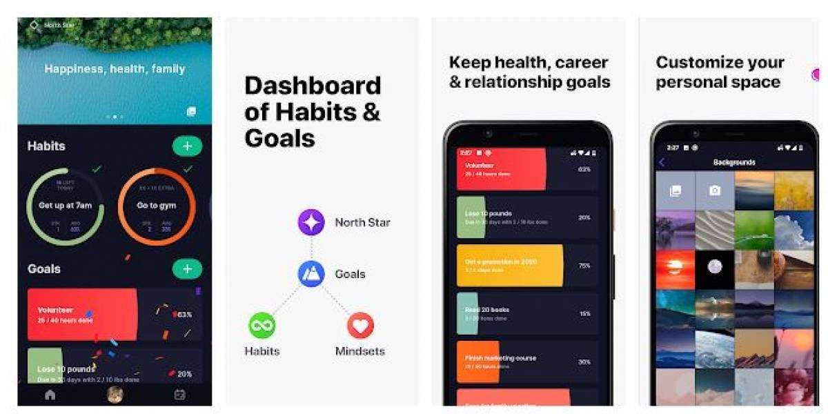 Android: De esta manera tendrás un rastreador de objetivos y hábitos