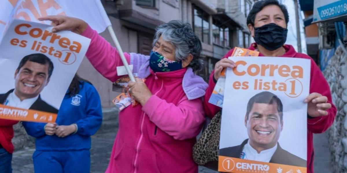 CNE dispuso suspensión de publicidad electoral de UNES que utilice imagen de Rafael Correa