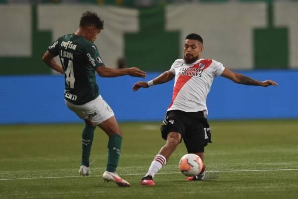 """""""Le faltó picardía"""": Paulo Díaz y la jugada que pudo cambiar la historia entre River y Palmeiras"""