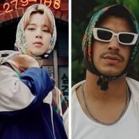 Jimin de BTS y Bad Bunny comparten el gusto por moda unisex