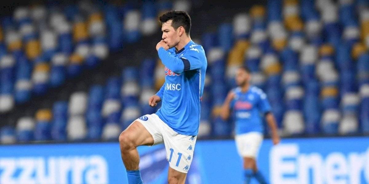 VIDEO: Chucky Lozano marca golazo en la Copa Italia