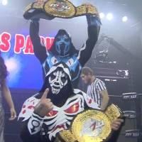 L.A. Park e Hijo de L.A. Park, nuevos campeones mundiales de pareja de MLW