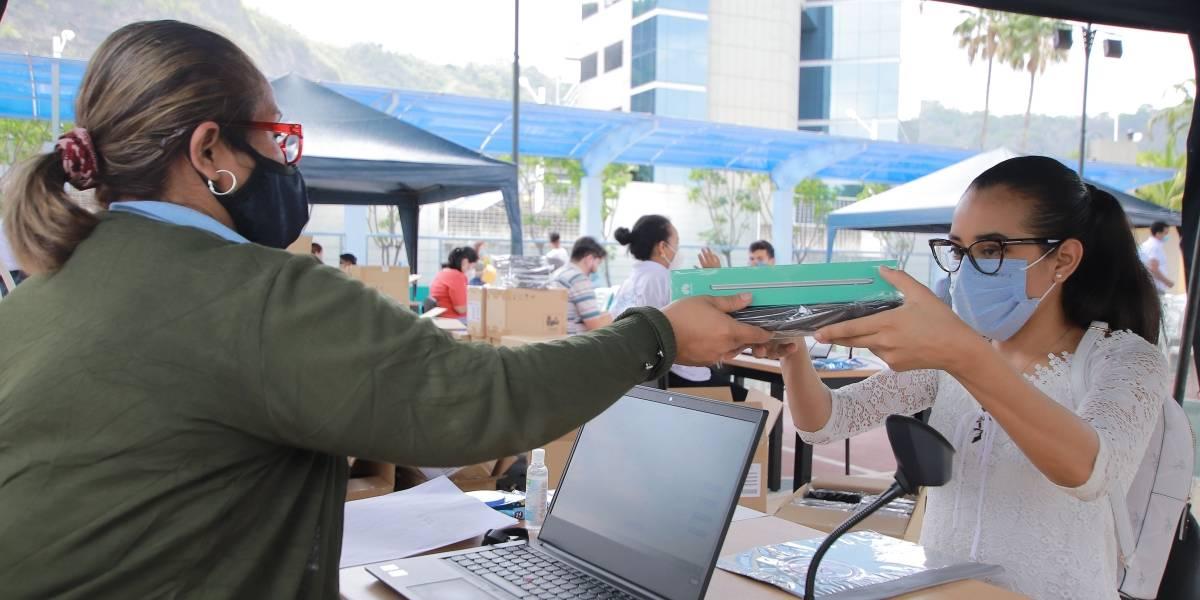 Continúan las entregas paulatinas de tablets para beneficiarios del Programa Bachiller Digital