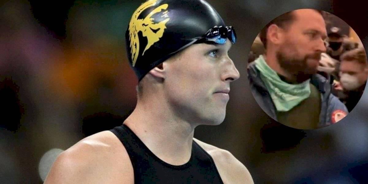 Medallista olímpico junto a Michael Phelps participó en toma del Capitolio