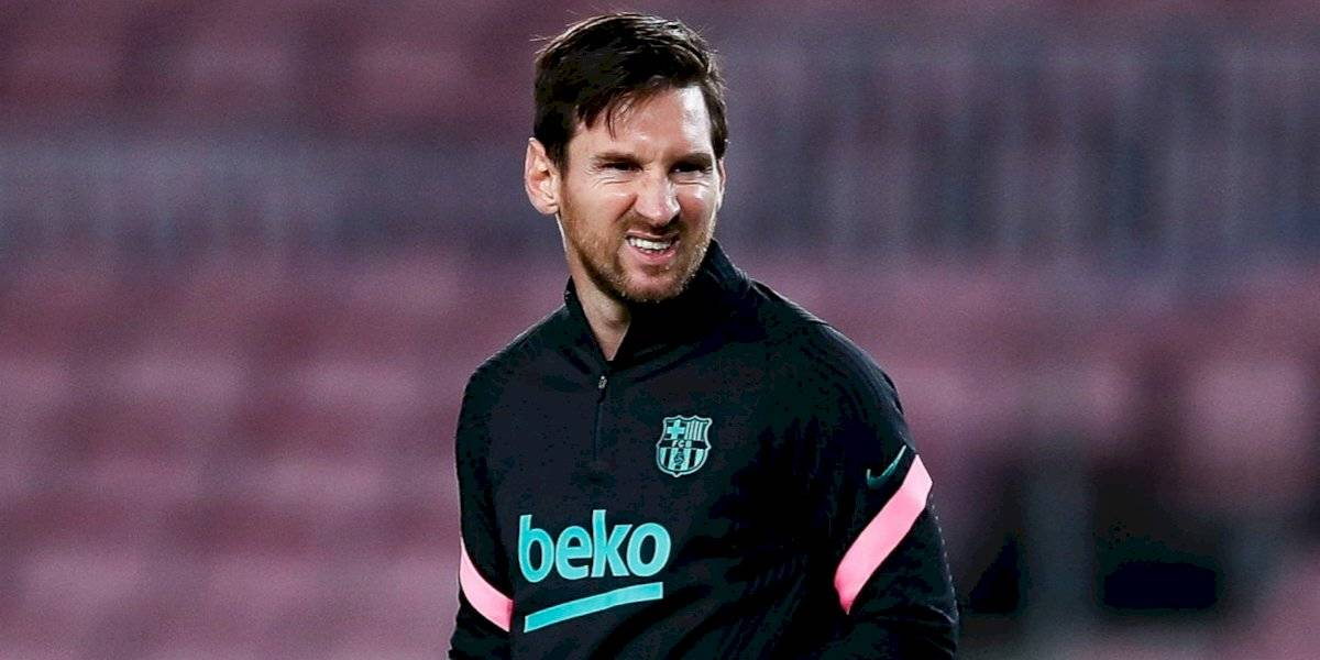 Leo Messi se pierde la semifinal de la Supercopa de España